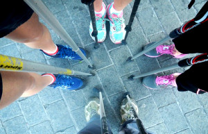 Nordic Walking en Bauskain