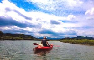 Canoa ría de Urdaibai