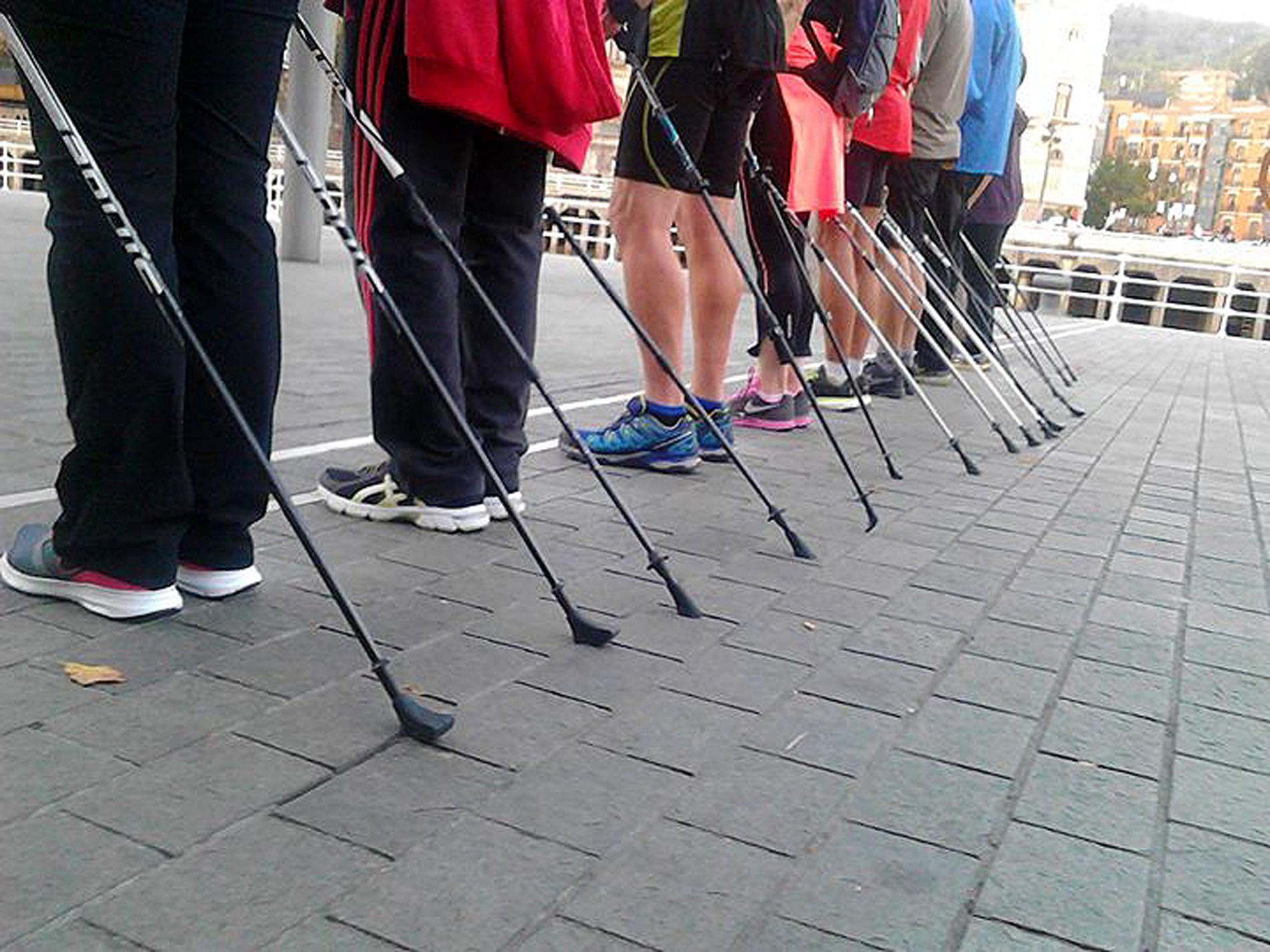 Taller de Nordic Walking en Bilbao