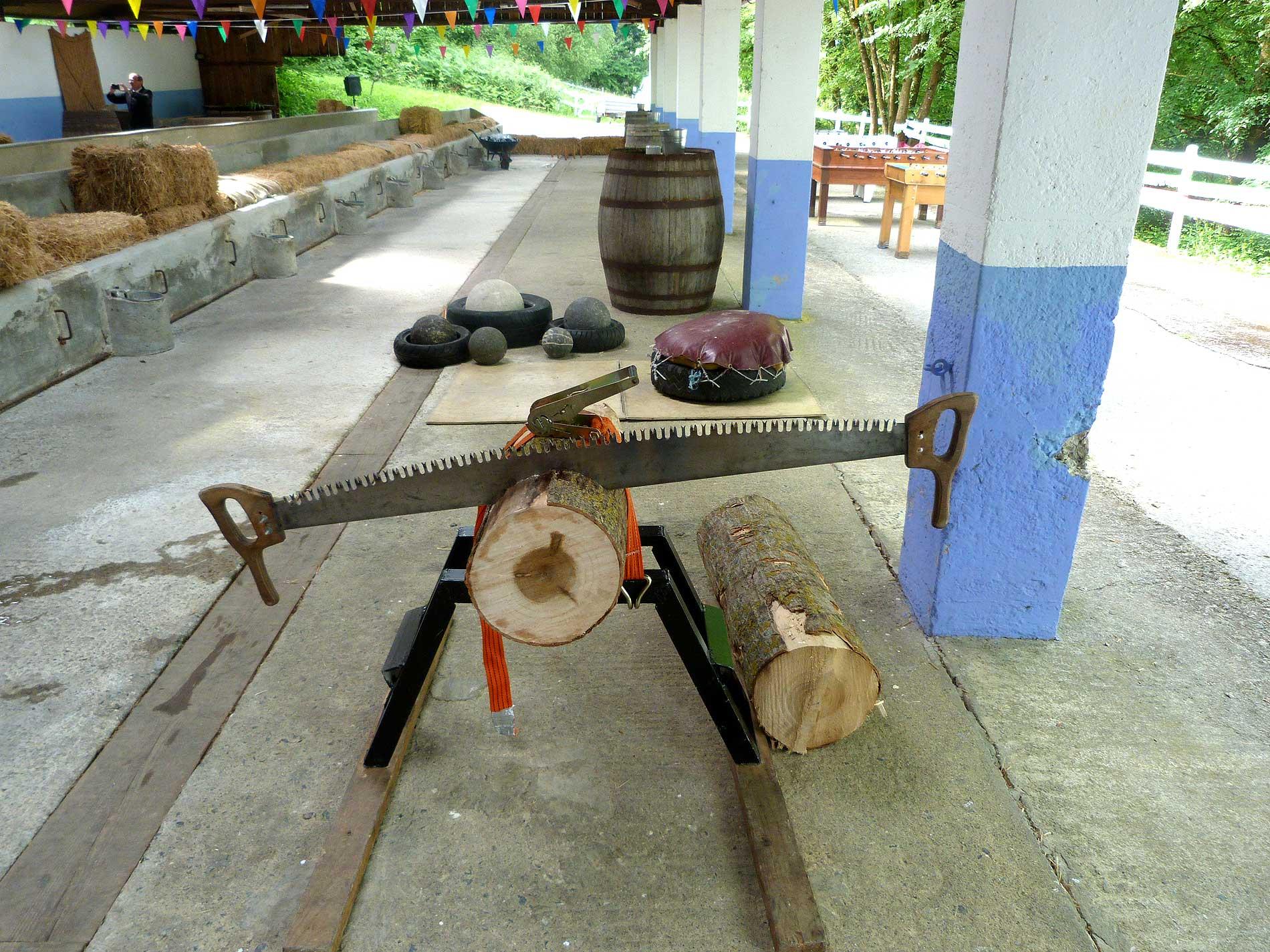 Deporte rural vasco en Bauskain