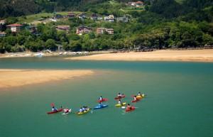 Kayak ría de Urdaibai