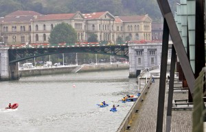 Canoa ría Bilbao