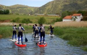 Stand up paddle Urdaibai