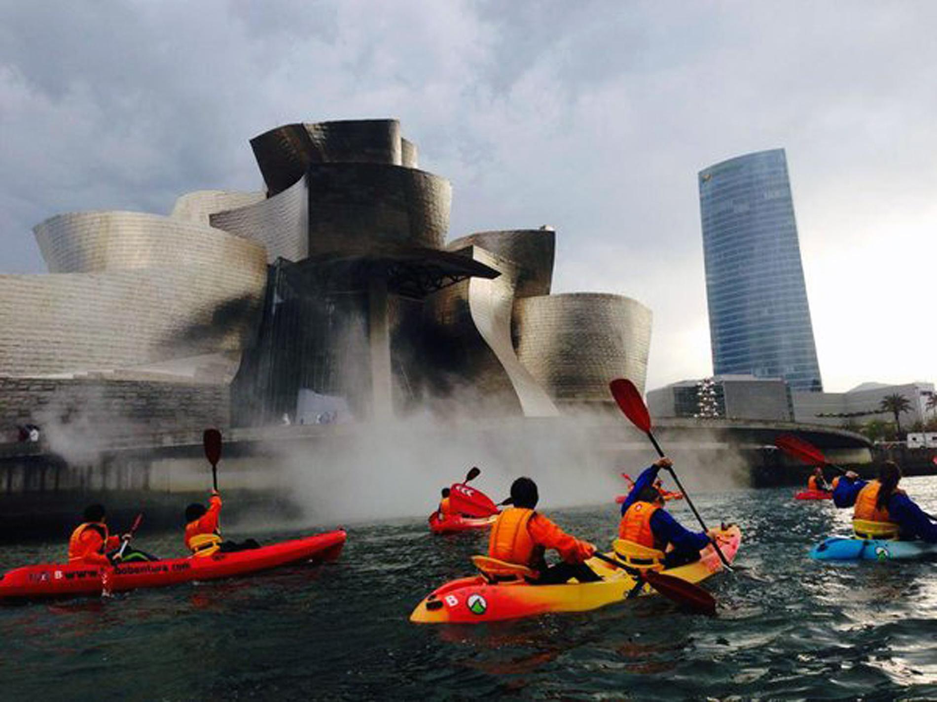 Canoa ría de Bilbao