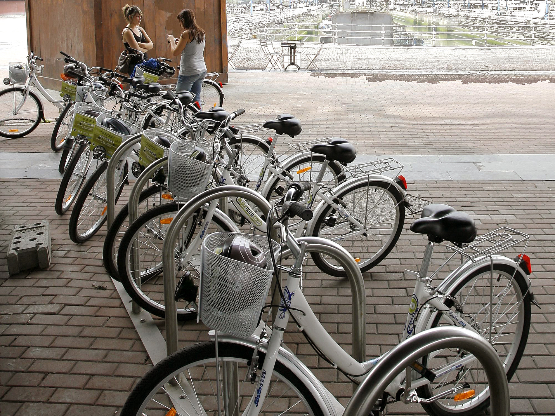 Bicicleta urbana en Bilbao
