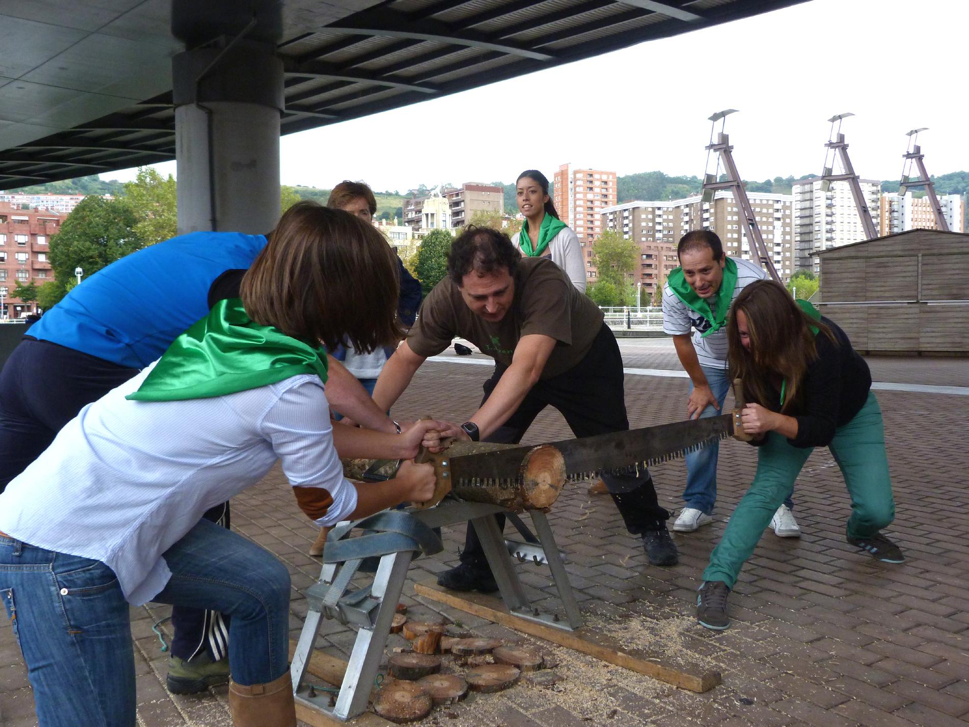 Deporte rural vasco en Bilbao