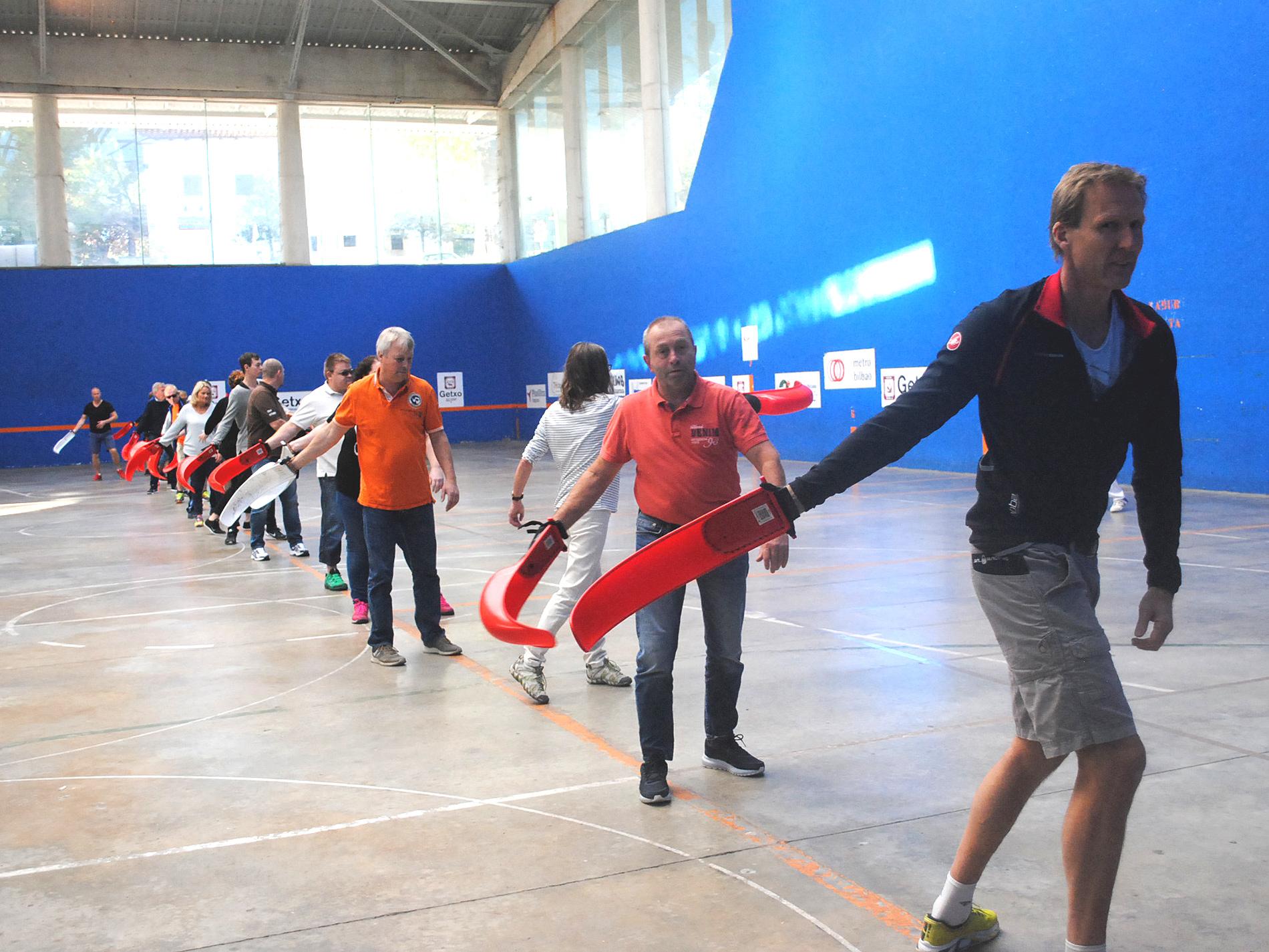Pilota-Experience: Experiencia de pelota vasca tadicional
