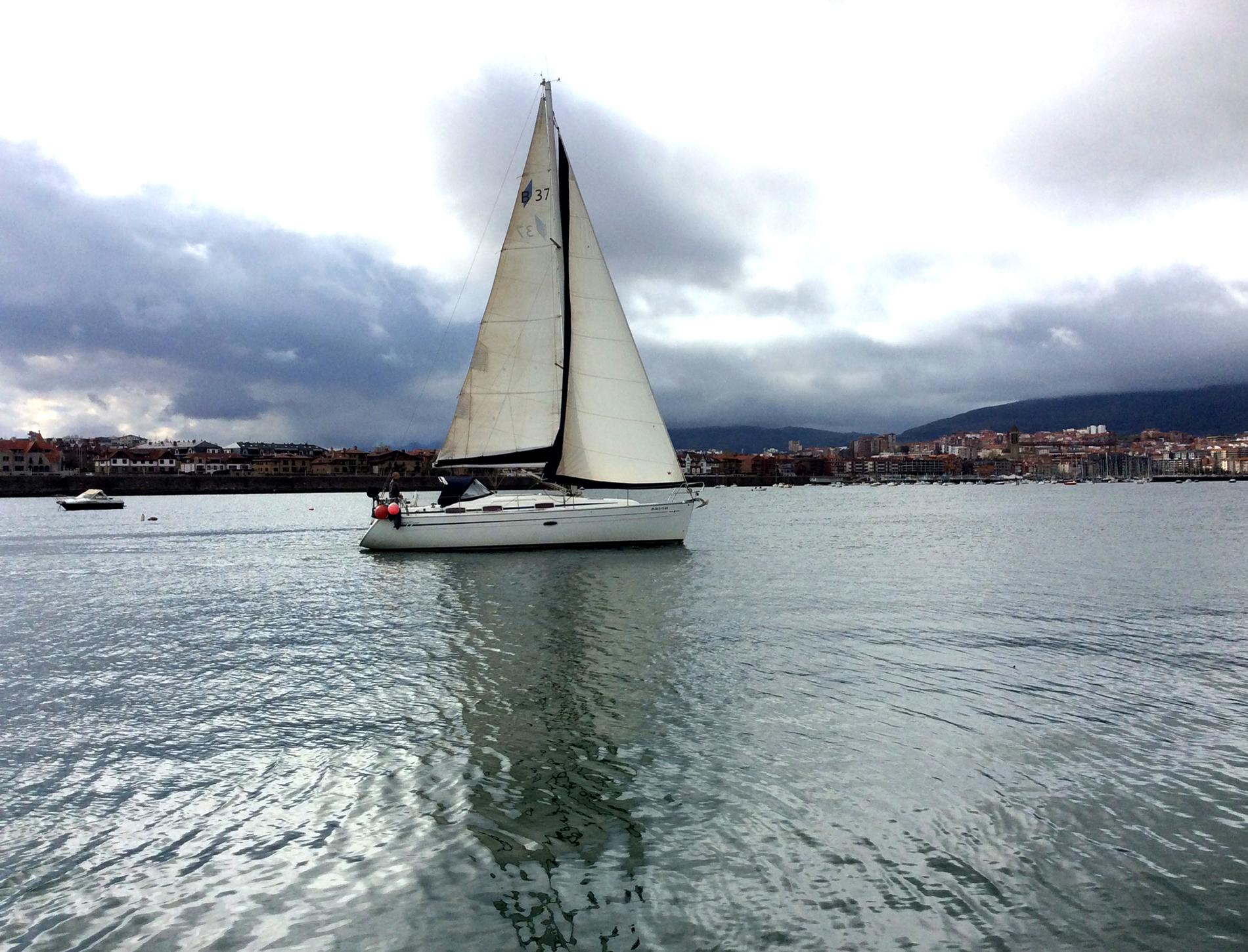 Vela crucero en Bilbao y el Abra
