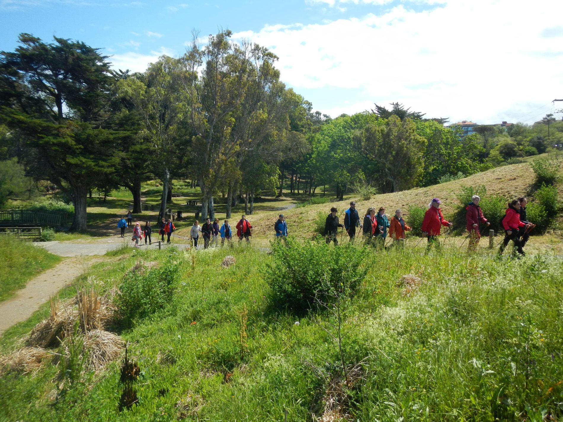 Nordic Walking en Bauskain